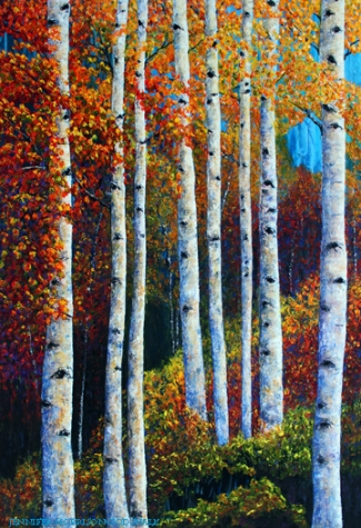 Colorful Colorado Aspens SOLD