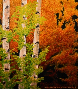 Autumn Aspens SOLD