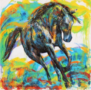 Painted Horse SOLD