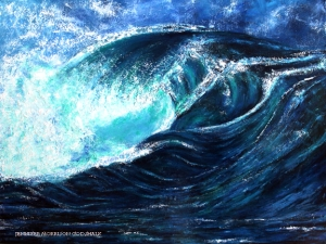 Ocean Waves SOLD